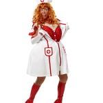 Sygeplejerske Liselotte fra Stuegangen er med til at gøre festen uforglemmelig